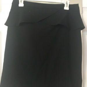 Express Peplum Pencil Skirt